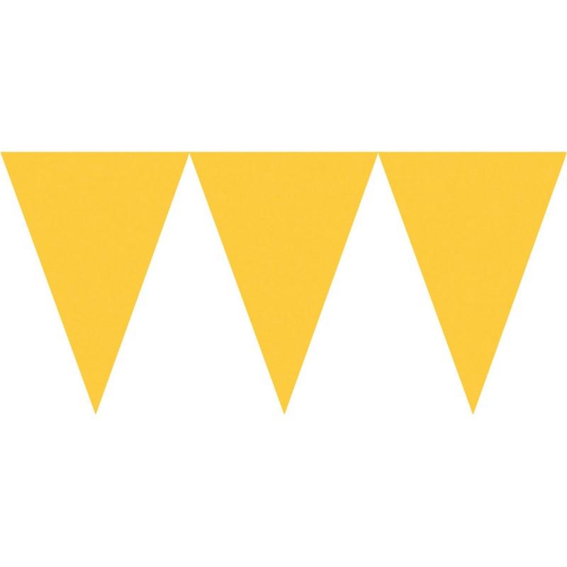 Vėliavėlių girlianda / geltona