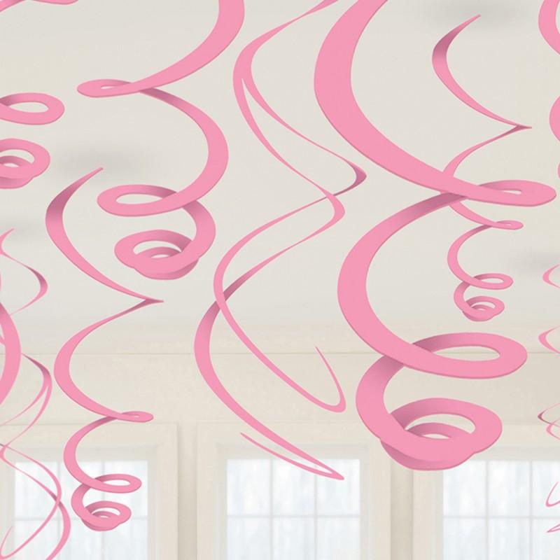 Pakabinamos dekoracijos / rožinės