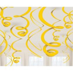 Pakabinamos dekoracijos / geltonos