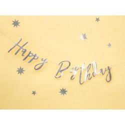 "Gimtadienio girlianda ""Happy birthday"""
