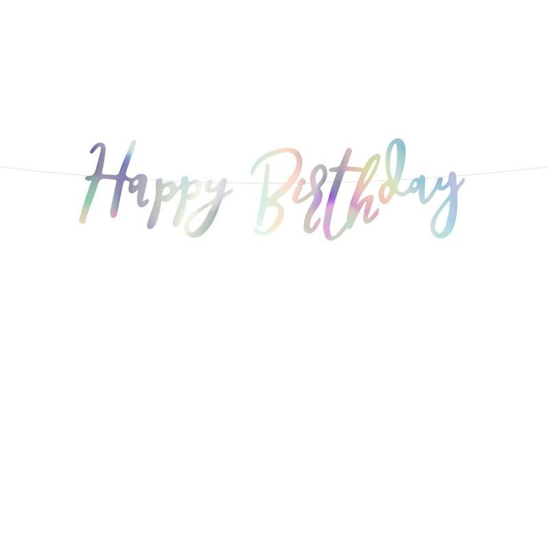 """Girlianda """"Happy birthday"""" / blizgi"""
