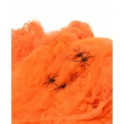Voratinklis oranžinis su voriukais