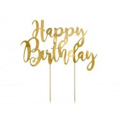 "Torto dekoracija ""Happy Birthday""/auks."