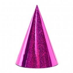Kepurėlė holografinė rožinė ryški
