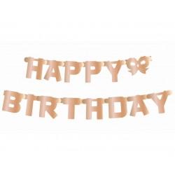 "Popierinė girlianda ""Happy birthday"""