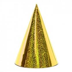 Kepurėlė holografinė auksinė