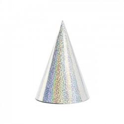 Kepurėlė holografinė sidabrinė