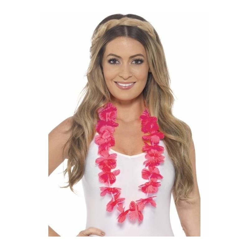 Havajietiška girlianda / rožinė