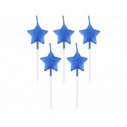 """Žvakutės """"Mėlynos žvaigždės"""""""