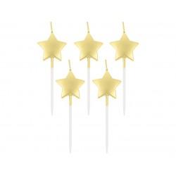 """Žvakutės """"Auksinės žvaigždės"""""""
