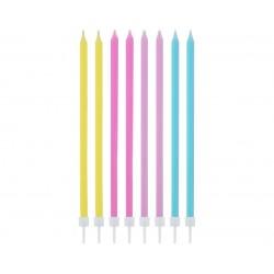 Žvakutės pastelinių spalvų