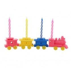 """Žvakutės tortui """"Traukiniaii"""""""