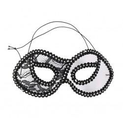Domino kaukė / sidabrinė