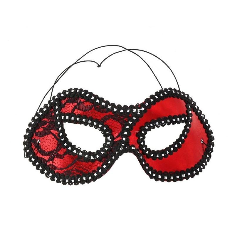 Domino kaukė / raudona
