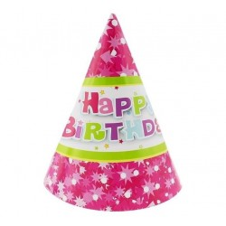 """Kepurėlės """"Happy Birthday""""/rožinės"""