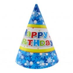 """Kepurėlės """"Happy Birthday""""/mėlynos"""