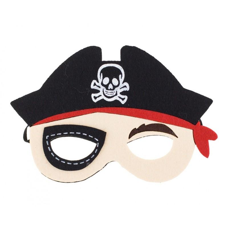 """Velvetinė kaukė """"Piratas"""""""
