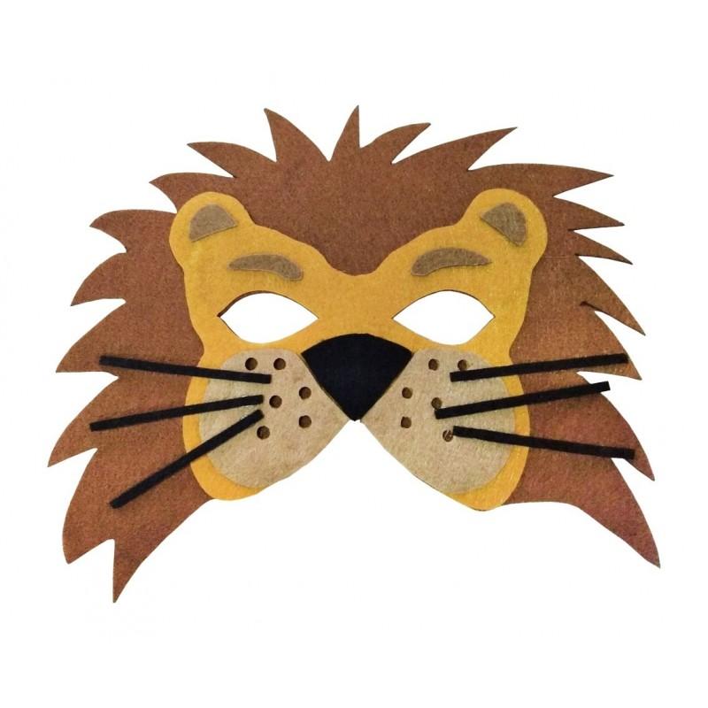 """Velvetinė kaukė """"Liūtas"""""""