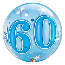 """Bablas """"Skaičius 60"""" / mėlynas"""