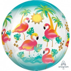 "Orbz. balionas ""Flamingai"""