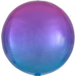 "Orbz. balionas ""Violetinis - mėlynas"""