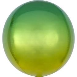 """Orbz. balionas """"Žalias - geltonas"""""""
