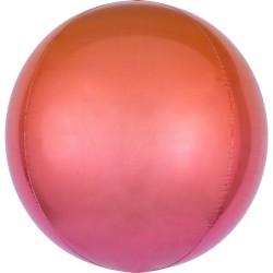 """Orbz. balionas """"Raudonas - oranžinis"""""""