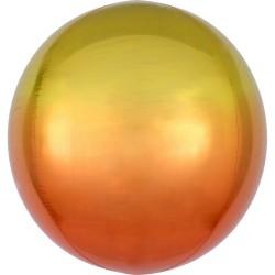 """Orbz. balionas """"Oranžinis - geltonas"""""""