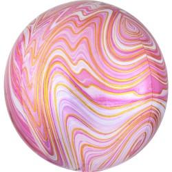 """Orbz. balionas """"Rožinis marmuras"""""""