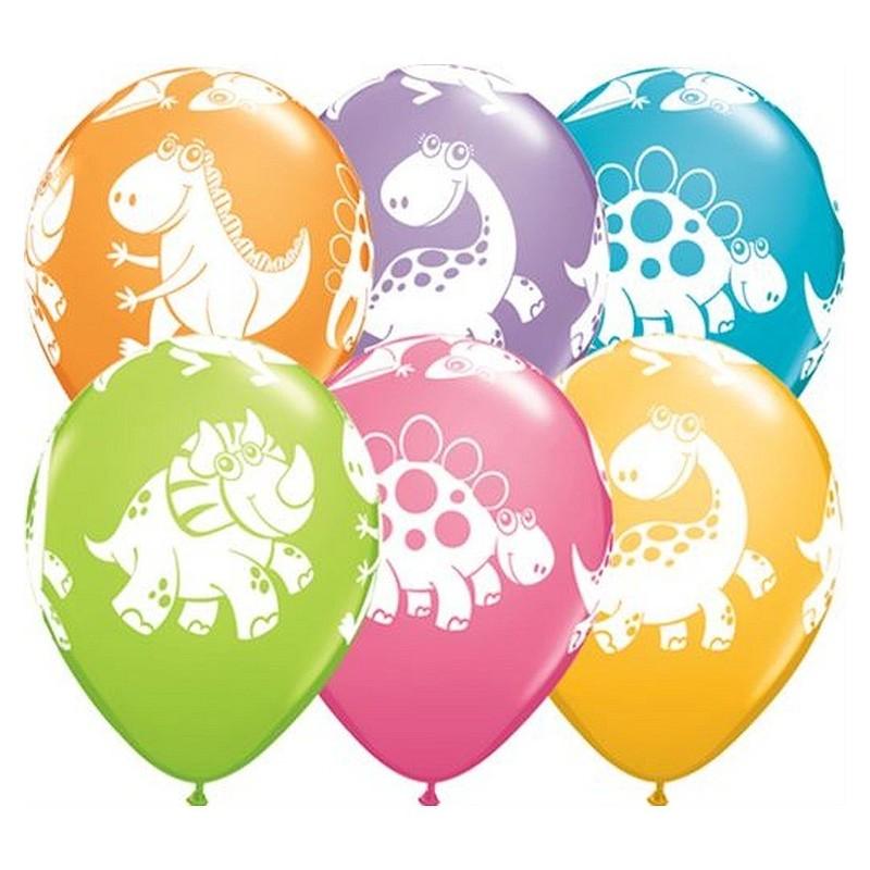 "Guminiai balionai ""Dinozaurai"""