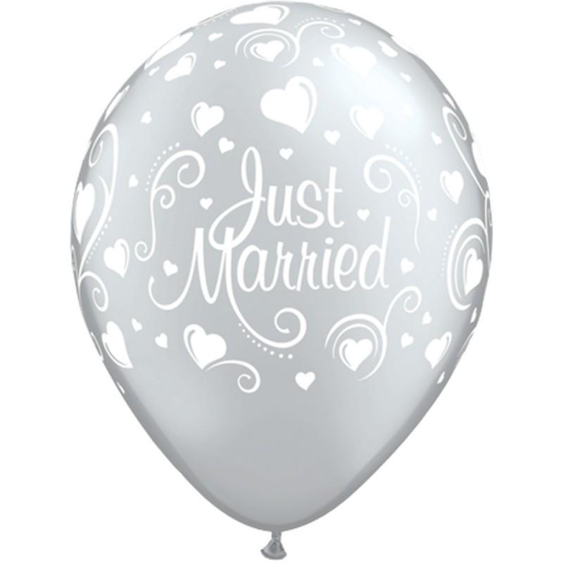 "Guminiai balionai ""Just Married"""