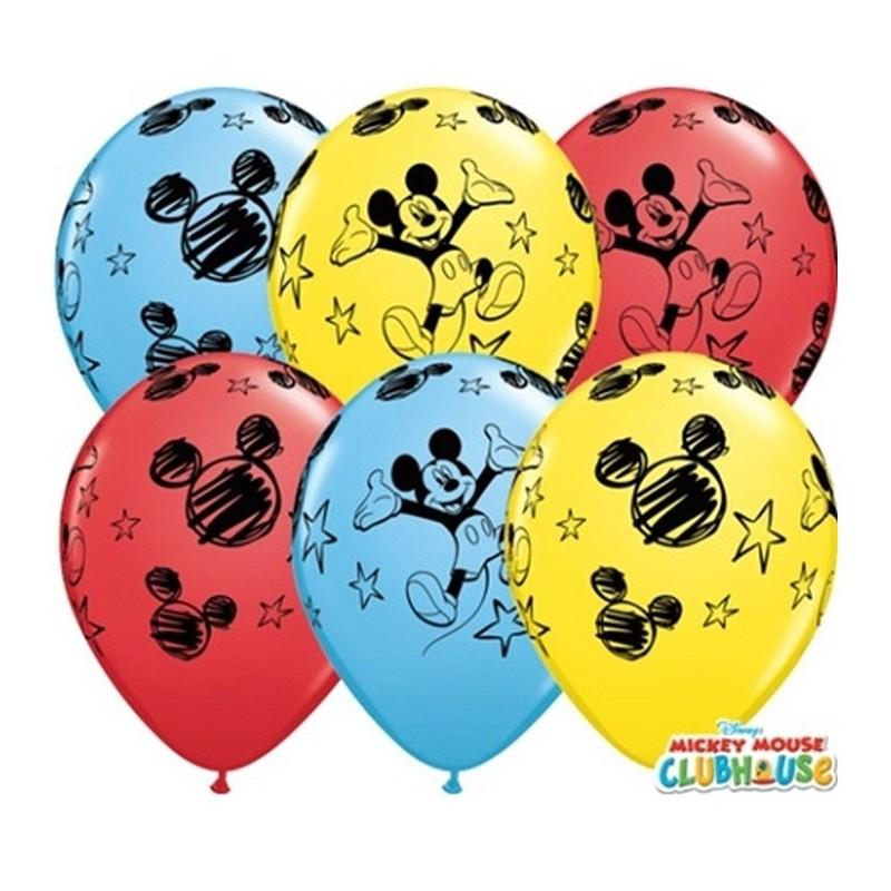 """Guminiai balionai """"Peliukas Mikis"""""""