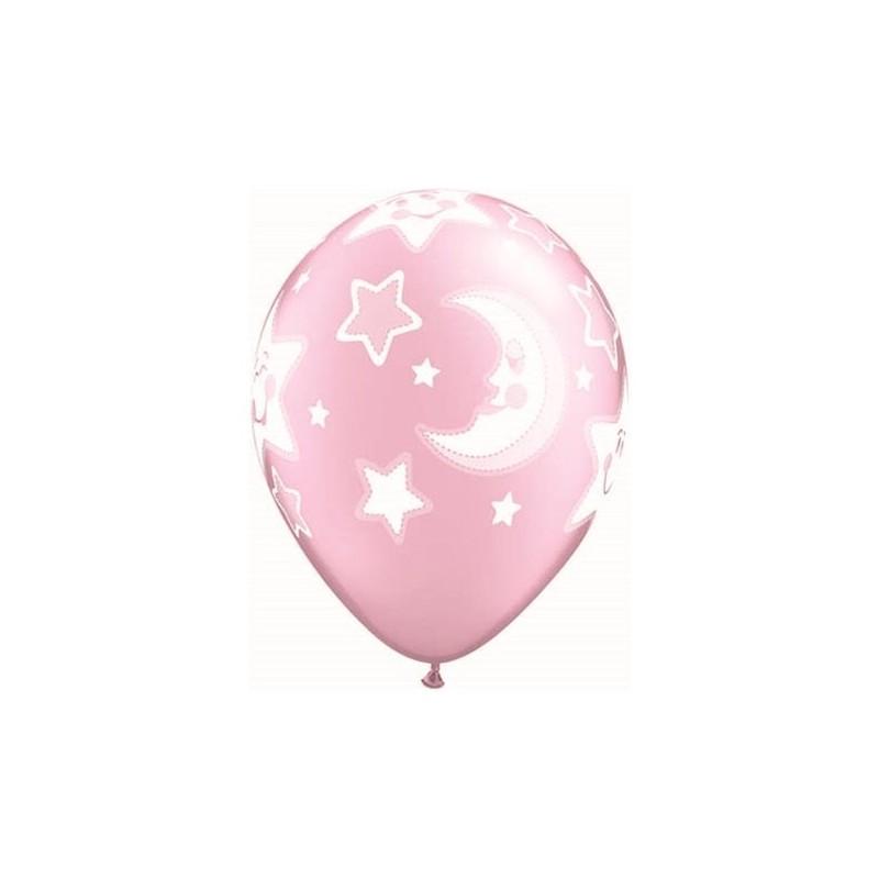 """Guminiai balionai """"Rožiniai mėnuliai"""""""