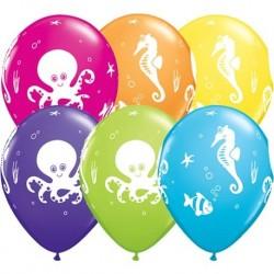 """Guminiai balionai """"Jūros gyvūnija"""""""