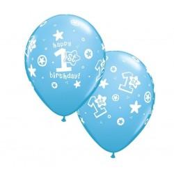 "Guminiai balionai ""1's gimtadienis"" boy"