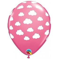 """Guminiai balionai """"Bebesėliai""""/rožiniai"""