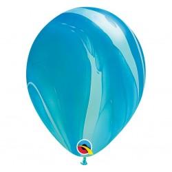 """Guminiai balionai """"Marmuriniai""""/melsvi"""