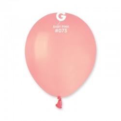 Šviesiai rožiniai pasteliniai balionai
