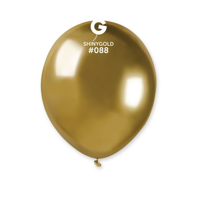 Auksiniai chrome balionai