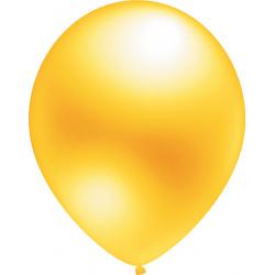 Geltoni perlamutriniai balionai