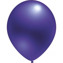 Violetiniai perlamutriniai balionai