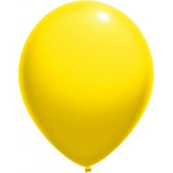Geltoni pasteliniai balionai
