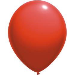 Raudoni pasteliniai balionai