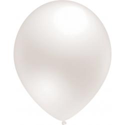 Balti perlamutriniai balionai