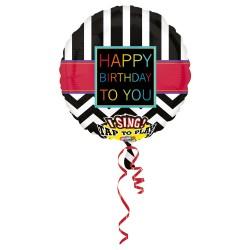 """Grojantis balionas """"HB juodas"""""""