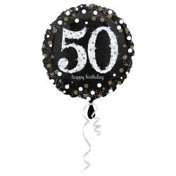 """Folinis balionas """"Juodas 50"""""""