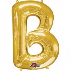 """Folinis balionas raidė """"B"""""""