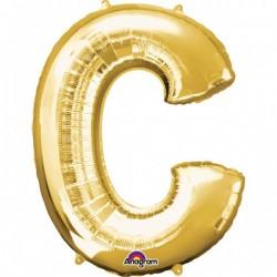 """Folinis balionas raidė """"C"""""""