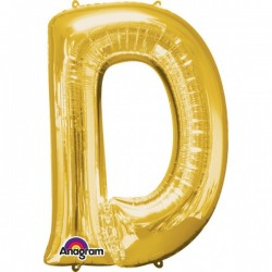 """Folinis balionas raidė """"D"""""""