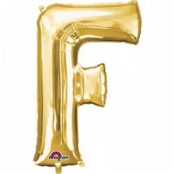 """Folinis balionas raidė """"F"""""""
